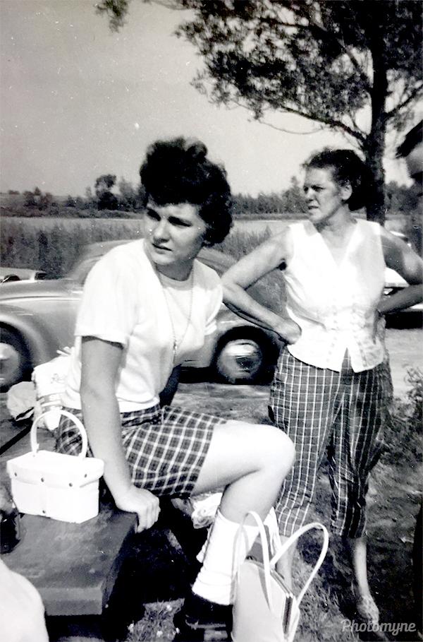 Etta Barber Ruth Ann. CA, USA 1959