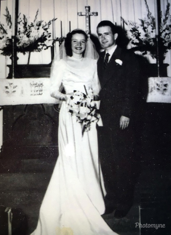 Happy 68th Anniversary to Tom and Willa Holmes! 1948, US