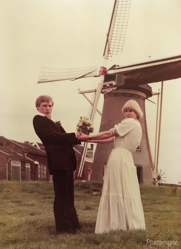Trouwdag, Maasland (Wedding day). Netherlands 1978