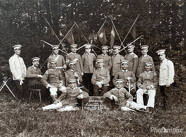 Truppenübungsplatz Münsingen (Münsingen military training area). Germany 1905