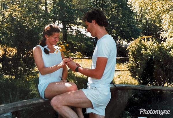 Frieri (courtship). Norway (date unknown