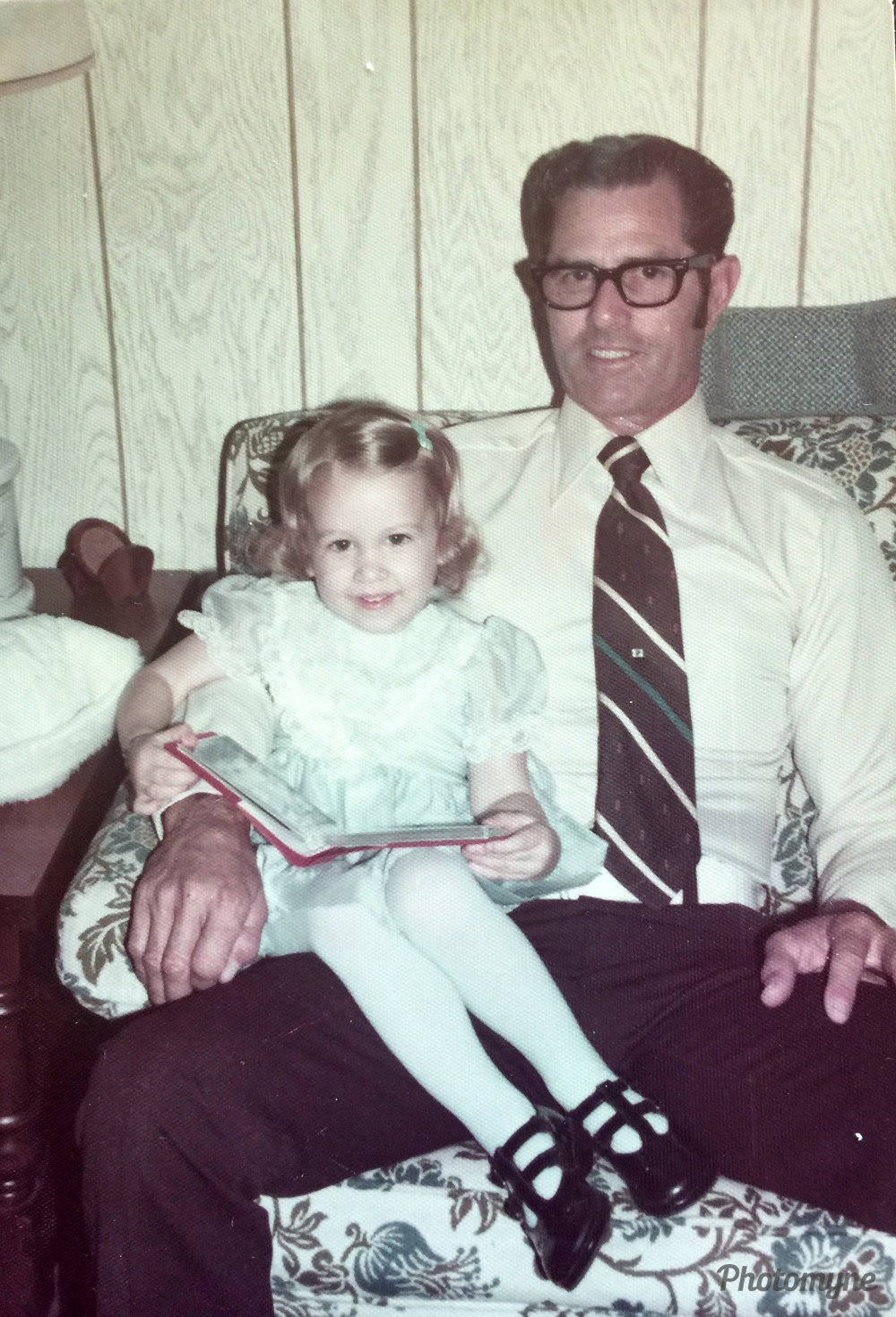 Me and my Grandaddy, Cedar Park, Texas, 1976