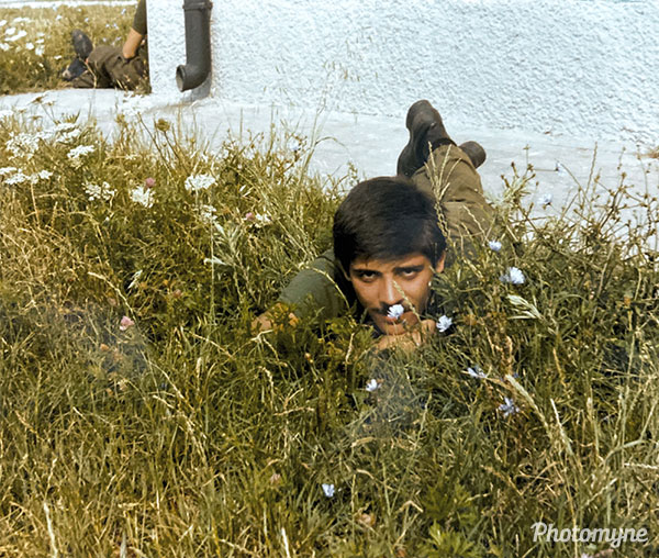Sebastiano Militare (The military Sebastiano). Italy 1970