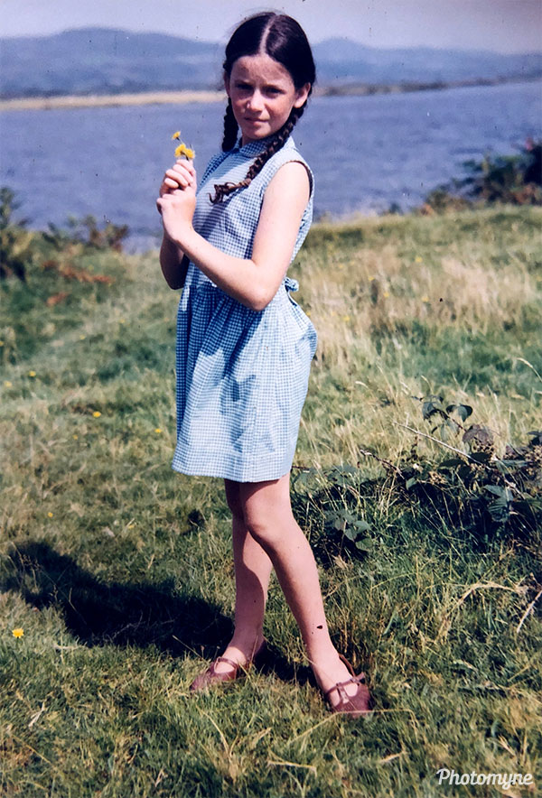 Patricia Carroll on a family holiday to Waterville. Ireland 1966