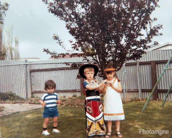 Dress up day Kindy. Australia 1982