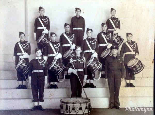 RNZAF band. New Zealand 1946