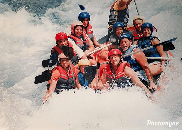 Rafting túra (Rafting tour). Turkey 2007