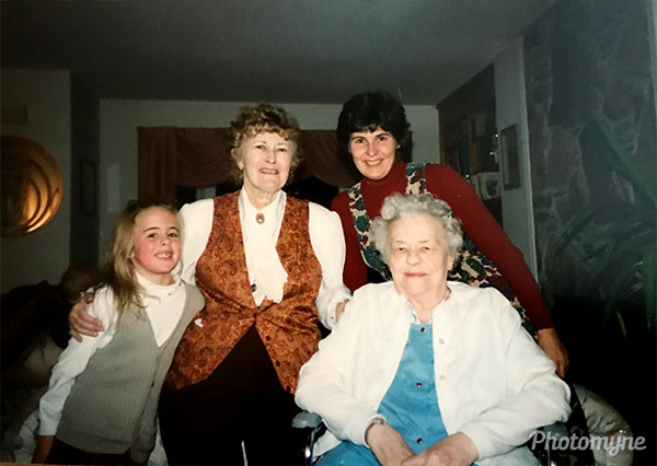Four generations. USA 1997
