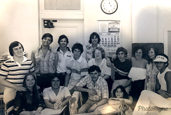 Graduating Seniors-Journalism. USA 1978