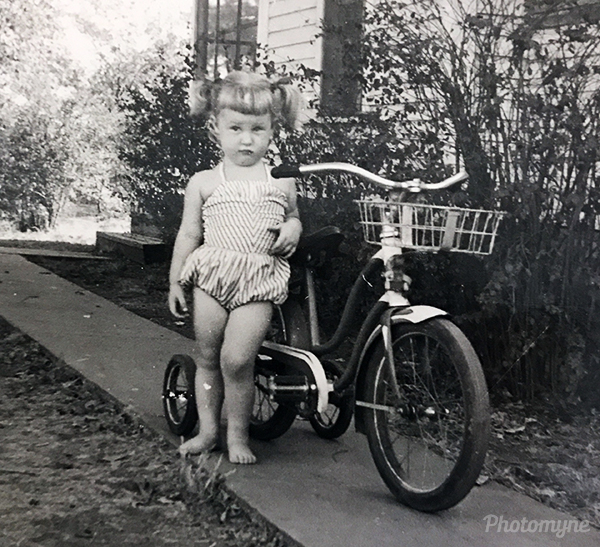 Good ol' days when kids were safe and free! Kansas, USA 1954