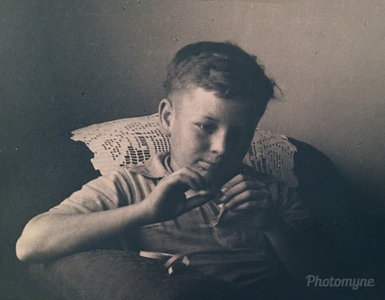 Dad ( Melvin ), age 13 yrs, 1931, US
