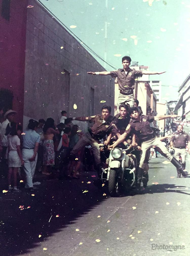 Acrobacia, Cuernacava, Morelos, Mexico, 1989