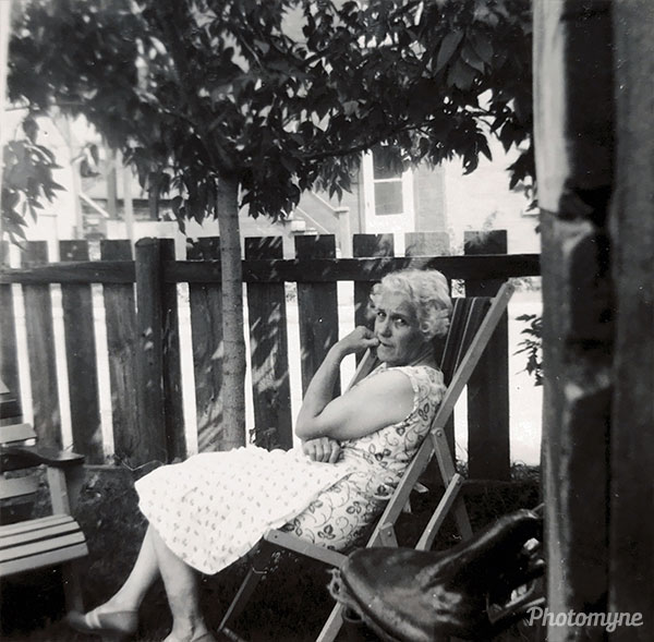 Germaines Charron. Canada 1952