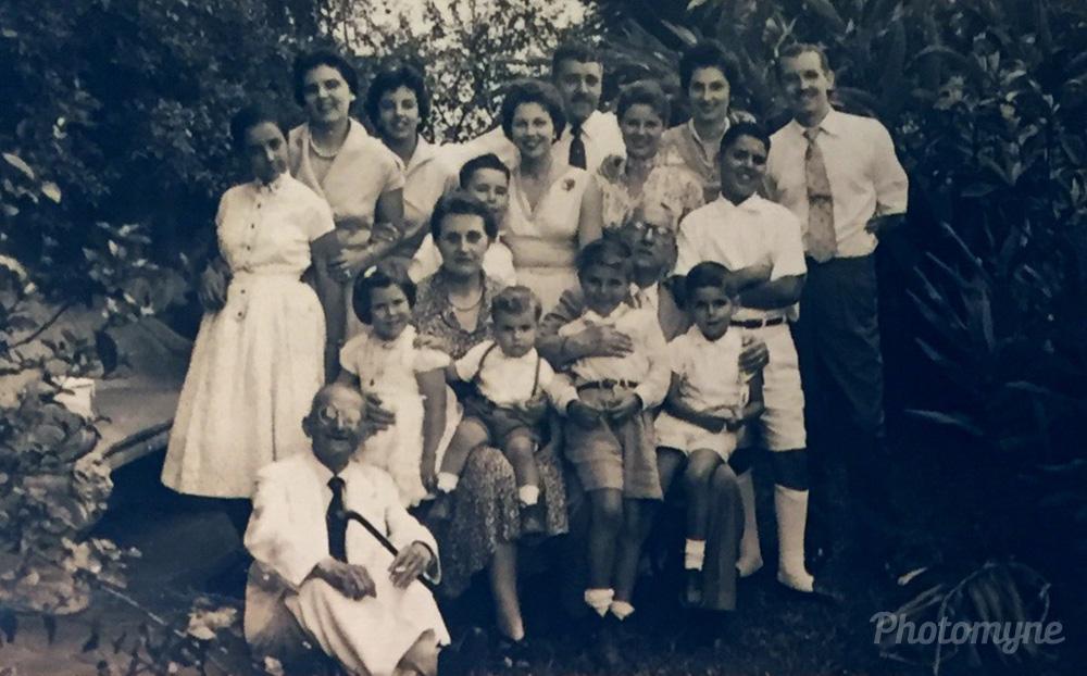 Cibella family, São Paulo capital, Brazil, 1966
