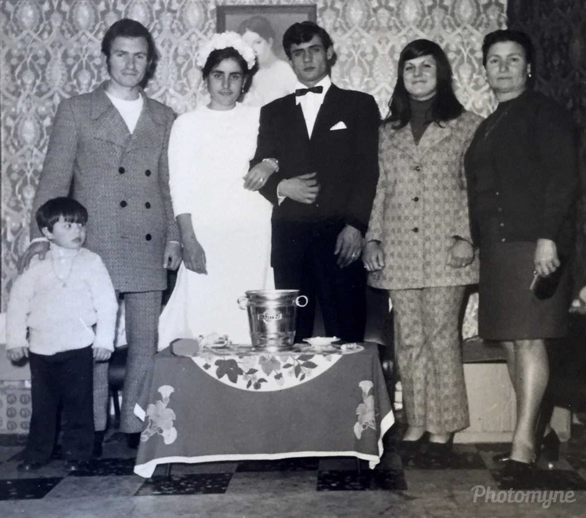 Matrimonio in Calabria (Wedding in Calabria), Varapodio, Italy, 1971