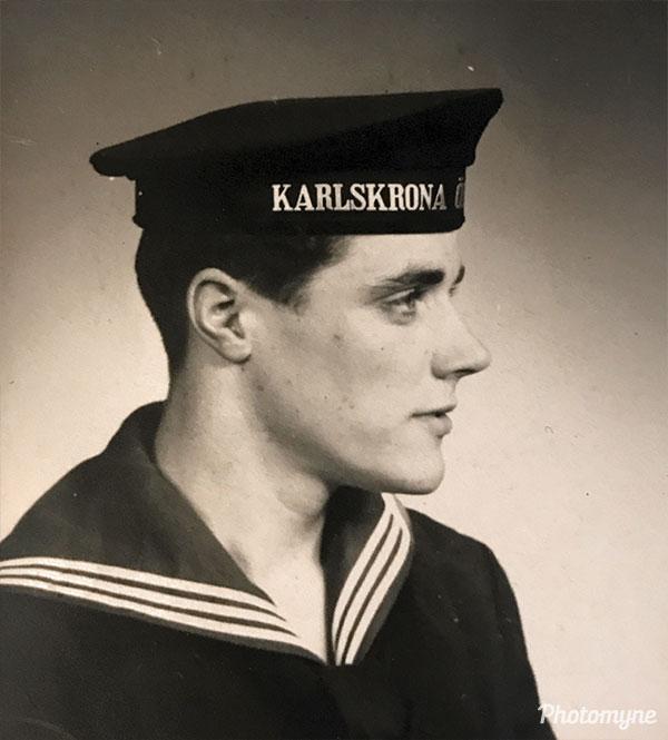 Pappa i flottan (Dad in the navy fleet). Sweden 1952