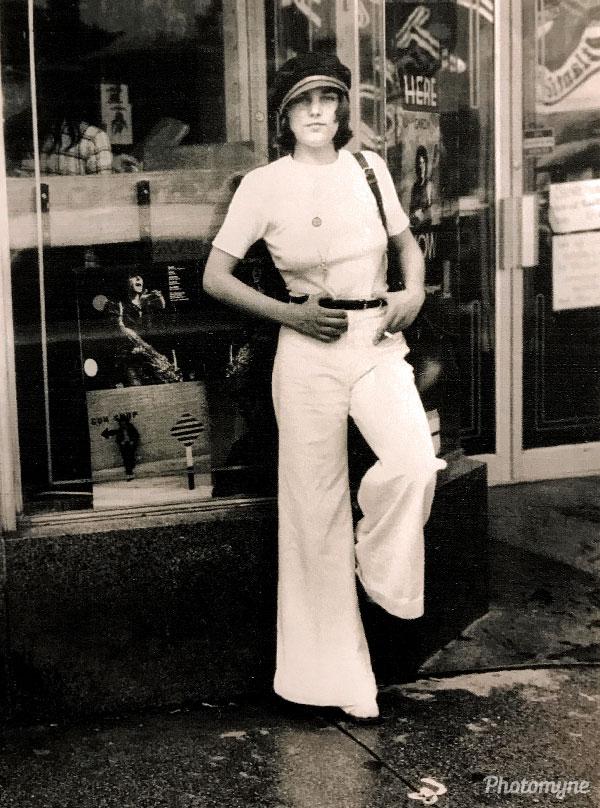 Me during the White Era. USA 1975