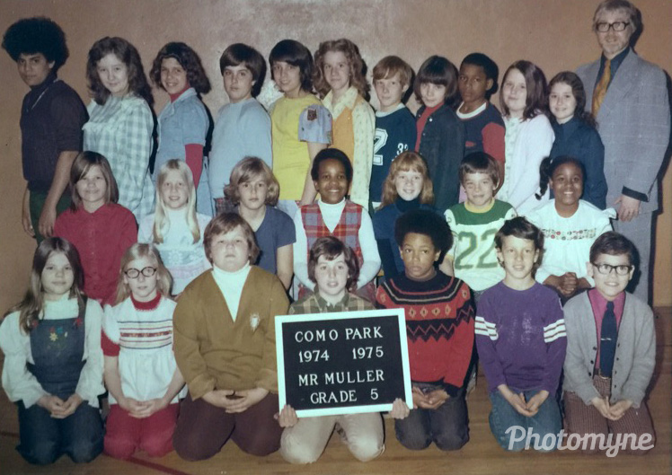Class picture, 1974