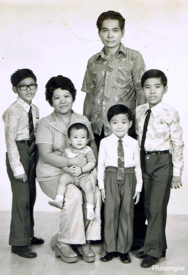 I'm the little one. Malaysia 1969