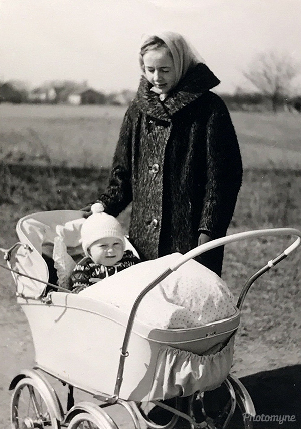 Hermann i barnevogn (Hermann in the stroller). Germany 1961