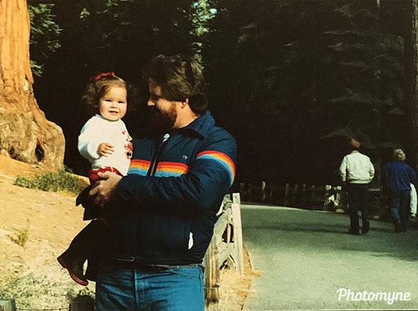 National Christmas Tree Dedication. CA, USA 1986