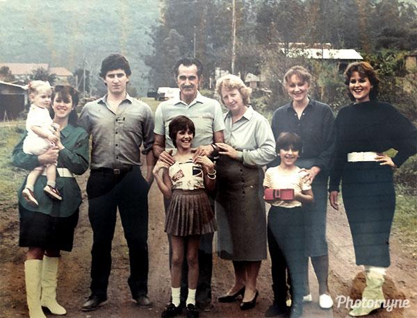 Família Soares (The Soares family). Brazil 1983