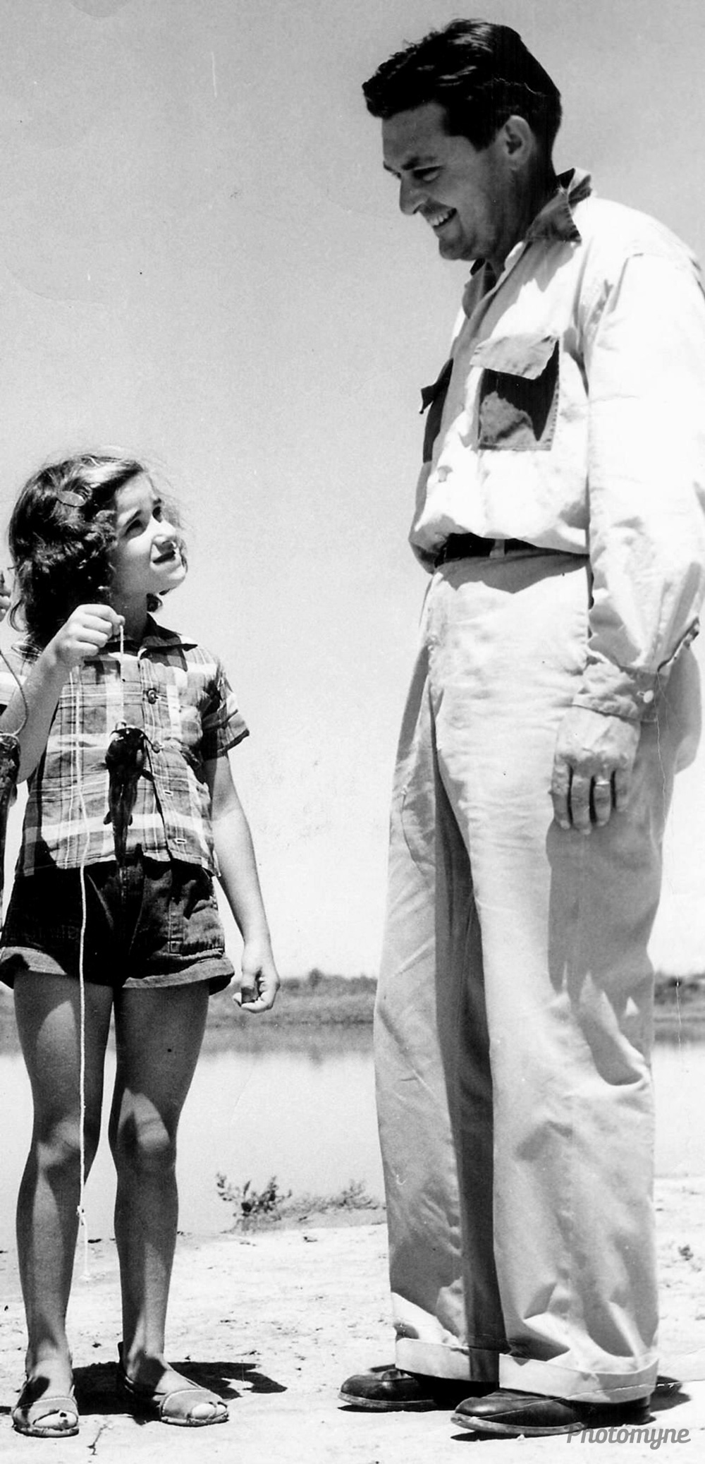 Daddy's Girl, 1954, Hugoton, Kansas, US
