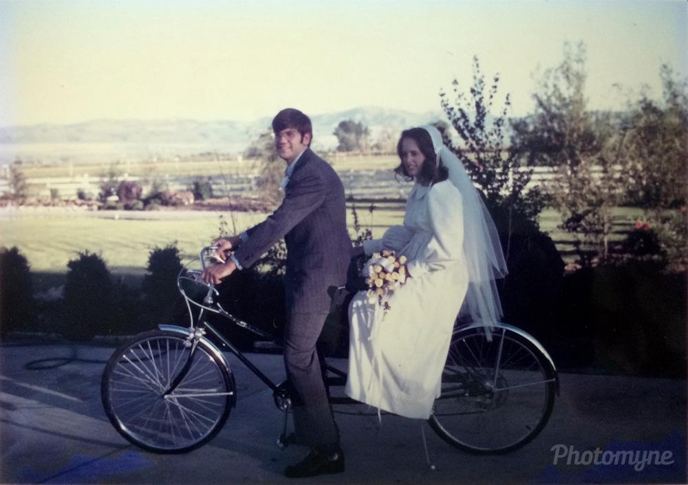 Kent & Jo, 1973, Idaho Falls, Idaho, US