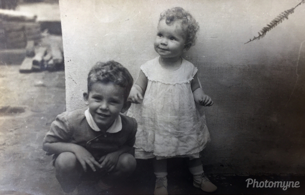 Foto de 03 de janeiro1953 em Sao Manuel estado de Sao Paulo, Brasil (Picture of January 3, 1953 in Sao Manuel state of Sao Paulo, Brazil). Brazil 1953