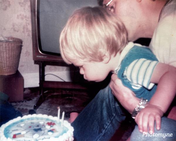 Christopher's second birthday. Australia