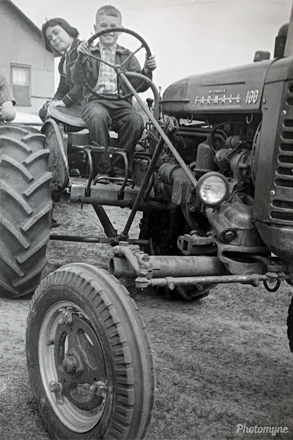 Van Dyke farm. Canada 1957