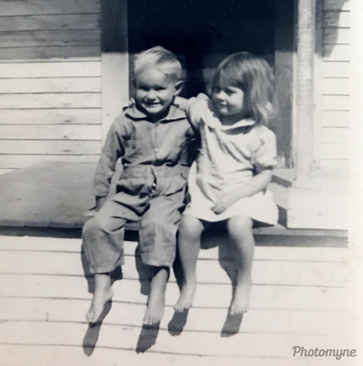 Dewayne Price & Wilma Stenhouse. California, USA 1941