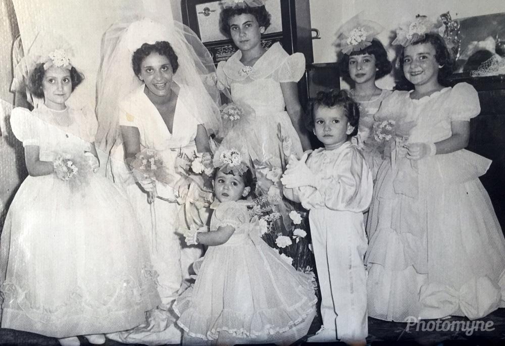 Mariage Marlene Gozlan ,Algeria, 1959