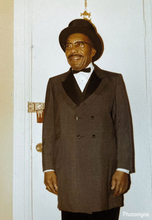 Uncle Buddy after Elks meeting. He was our grandmothers brother. MD, USA 1980