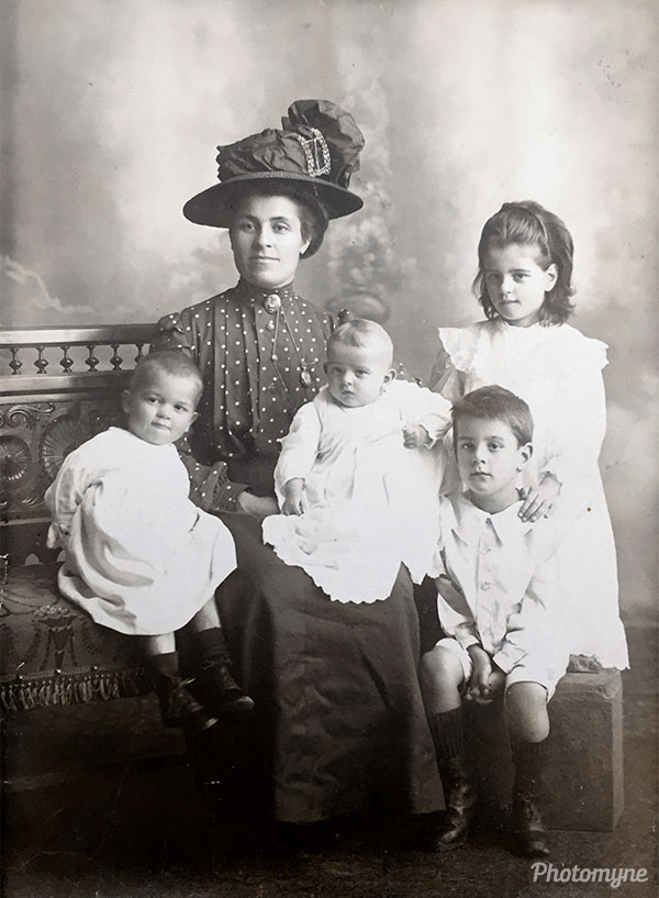 The Williams Family. Switzerland 1911