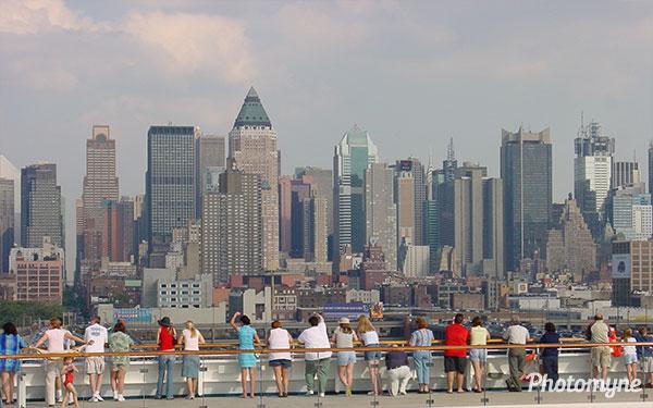 Leaving New York, NY, USA 2003