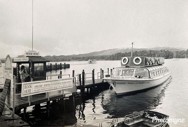 Lake Windermere. UK 1989