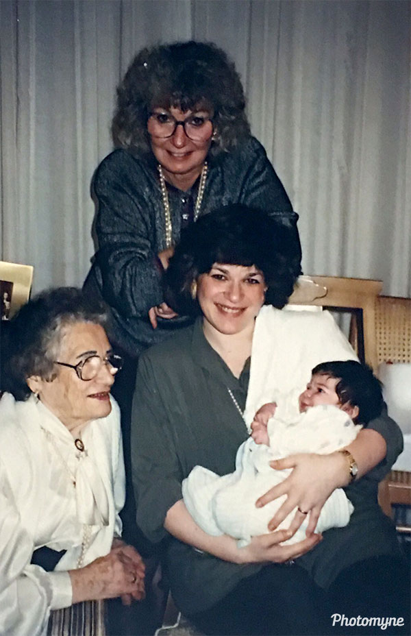 After my grandmother passed, I was overwhelmed by emotions when scanning her old photo collection. This one, taken one week after my birth, reminded me of how fortunate I was to be a part of this photo. One photo featuring four generations of women in my family is definitely a memory to preserve and share. New York, USA 1989