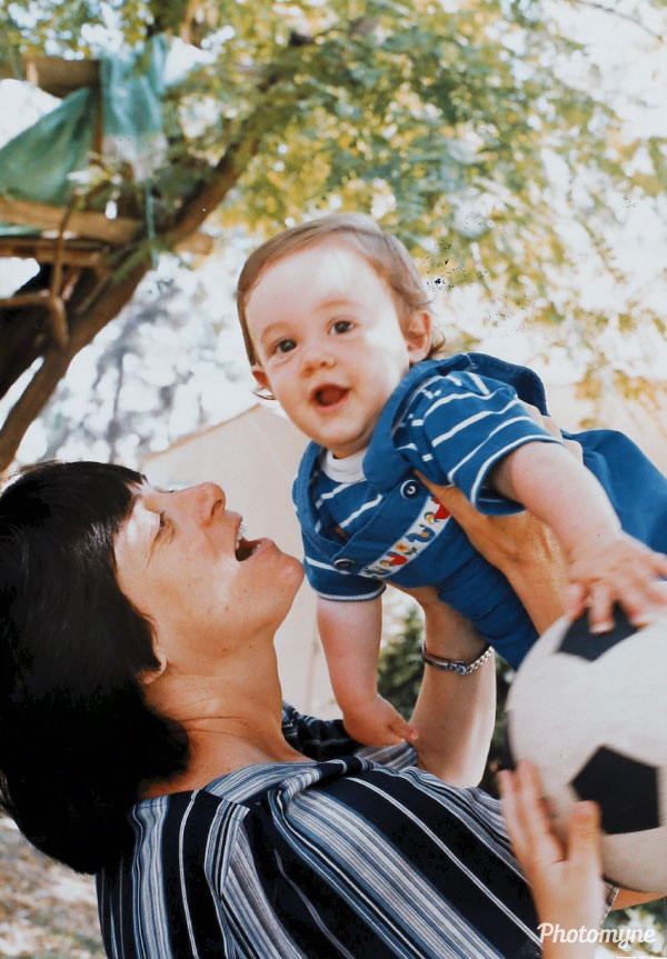 Me and my mom. Israel 1985