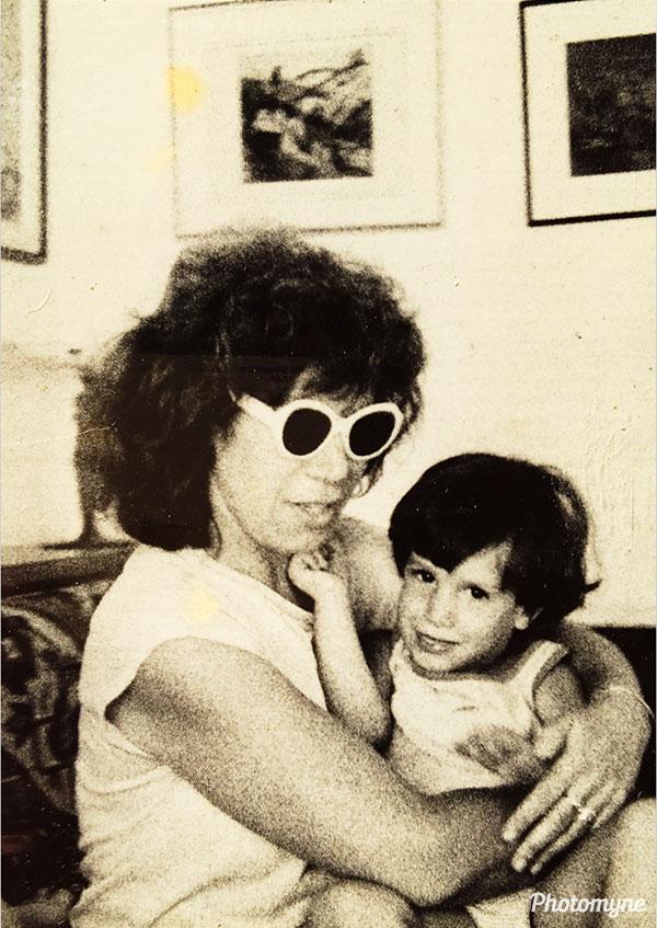 Great memories of my wonderful mom. Loved the days when we used to visit my grandparents. Tel Aviv, Israel 1986