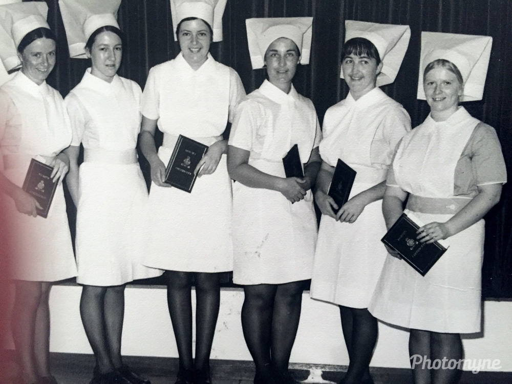 Friends forever. Graduation March 1974. Still great friends. Royal Prince Alfred Hospital, Sydney, Australia