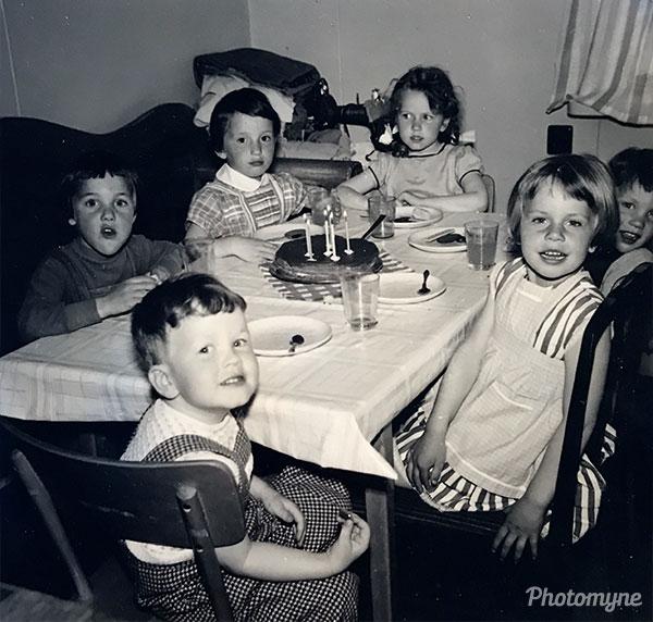 Krokom kids. Sweden 1957