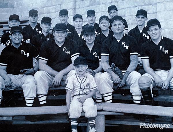 PLM ball team. USA (date unknown)
