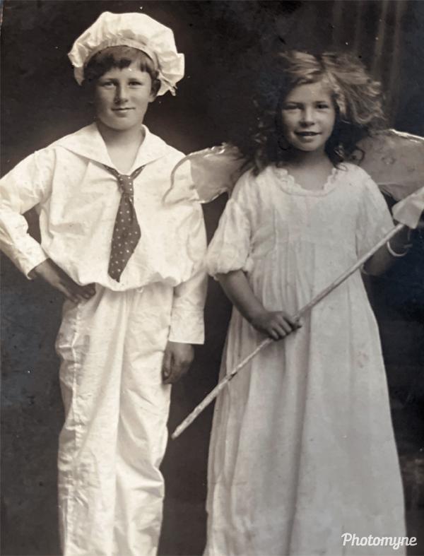 Angus and Rene. Australia 1916
