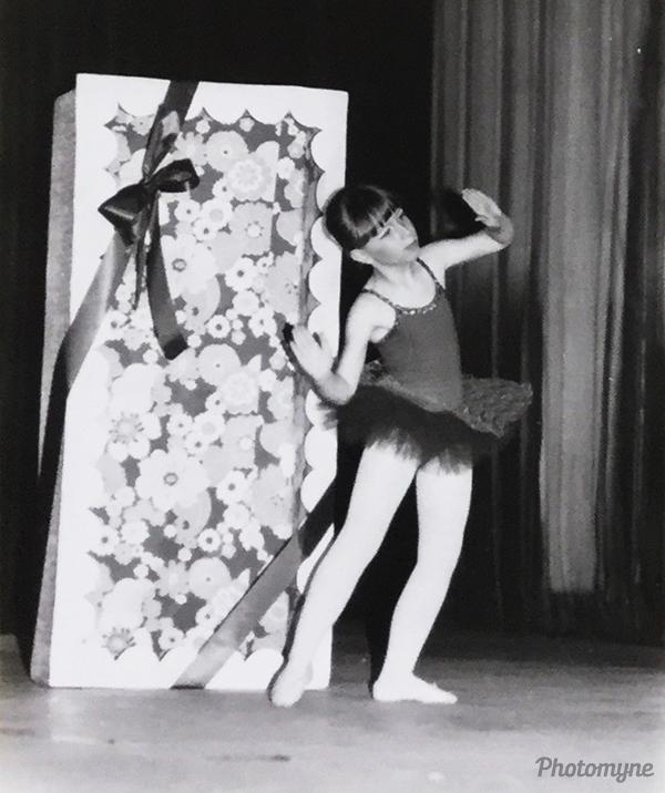 Ballet recital: Les Sylphides. Belgium 1981