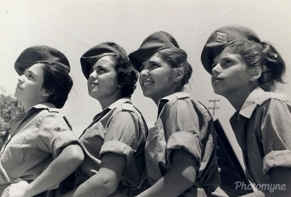 Bootcamp in May. Israel 1963