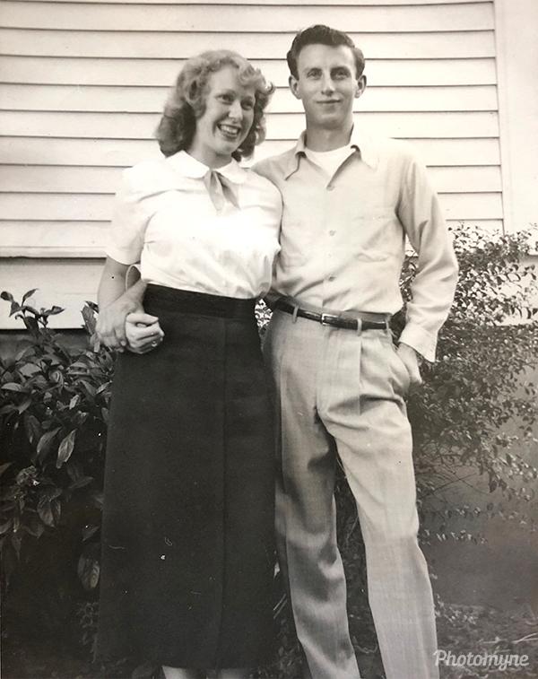 Shirley and Harold. USA 1950