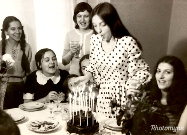 Aniversare (birthday). Romania 1972