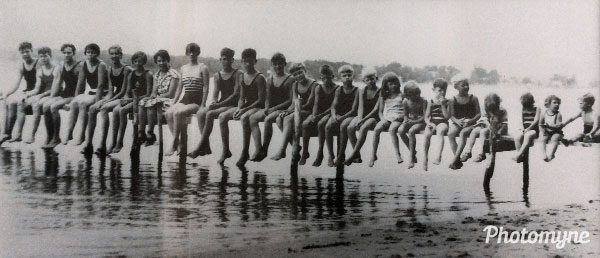 Omaha Beach, Lake Okoboji. Iowa, USA 1932