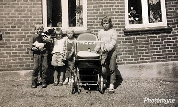 Min fætter og kusiner (My cousin and cousins). Denmark 1961